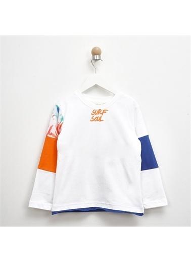 Panço Panço T-Shirt Erkek Çocuk Beyaz